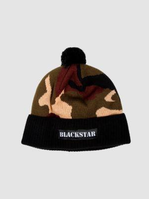 Unisex beanie Camo Black Star