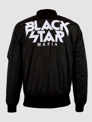 Bomber-jacket Mens Black Star Mafia