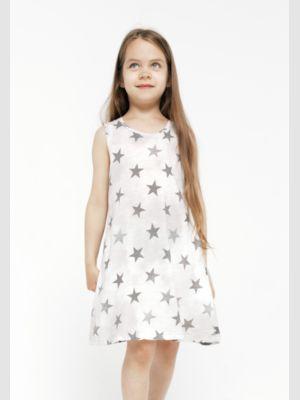 Kid's dress ALL BLACK STAR
