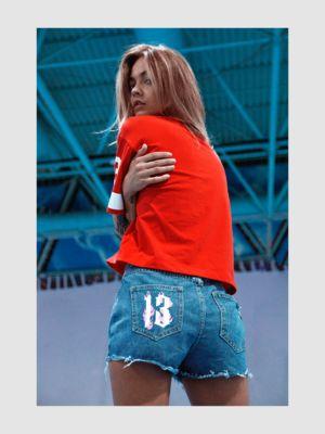 Women's denim shorts HOT 13 DENIM