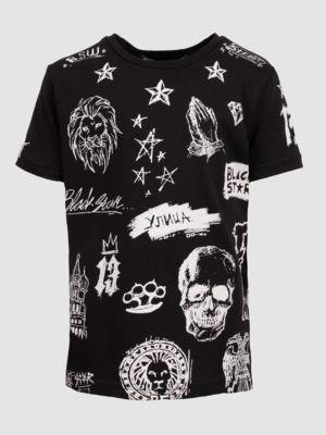 Kid's t-shirt BLACK SKETCH