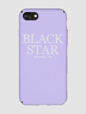 Case for phone ROYALTY BLACK STAR