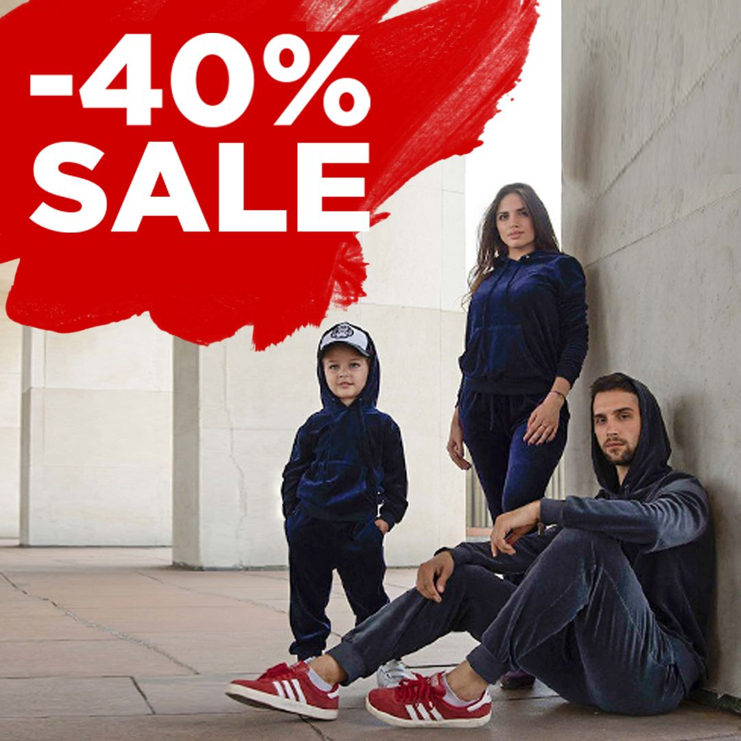 SALE -40% off all sportsuits!