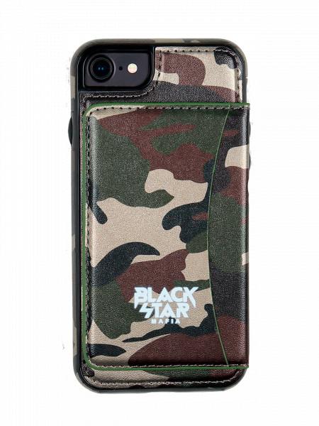 Чехол для IPhone 5/6/6+/7/7+ Black Star Mafia Camo