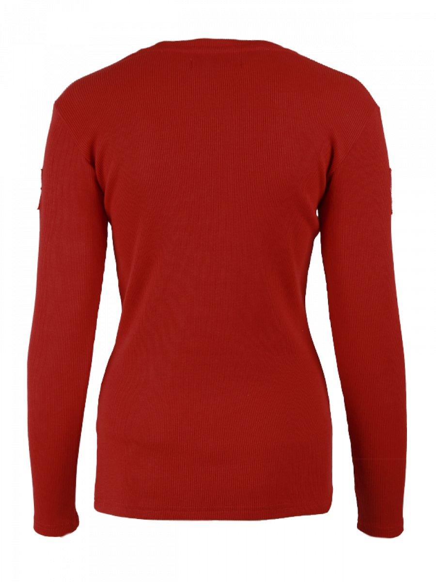Womens Long Sleeve T Shirt Silhouette