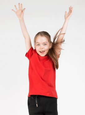 Kids t-shirt BLACK STAR 13