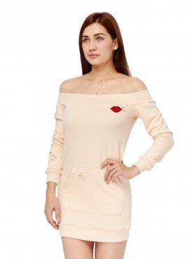 Women's dress MON AMOUR SHOULDERS