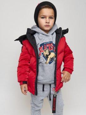 Kids down-jacket BLACK STAR 13