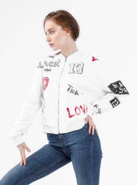Women's jacket-bomber BS SKETCH