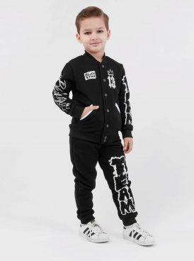 Kids sportsuit BLACK SKETCH