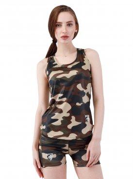 Women's a-shirt SPORT LINE CAMO