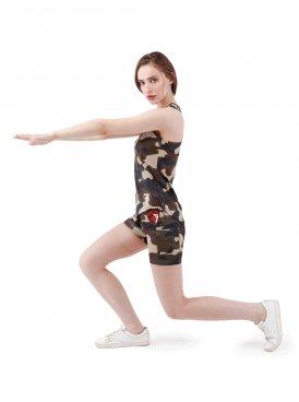 Women's shorts SPORT LINE CAMO