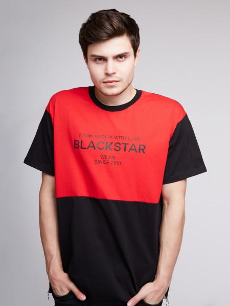Футболка BLACK & RED
