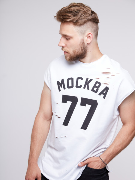 Футболка MOSCOW 77 BS