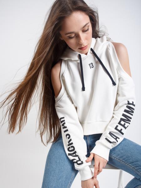 LA FEMME hoodie