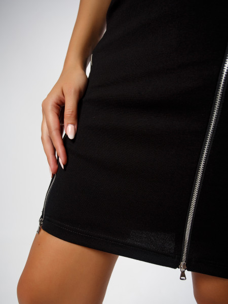 Платье BLACK ZIP