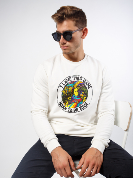 Men's  I LOVE THIS GAME sweatshirt