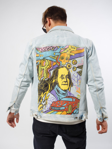 Куртка джинсовая I LOVE THIS GAME