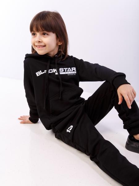 Kid's BLACK CLASSIC sportsuit