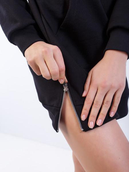 Платье-худи женское LA FEMME
