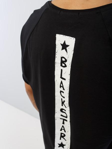 Футболка DRAW BLACK STAR