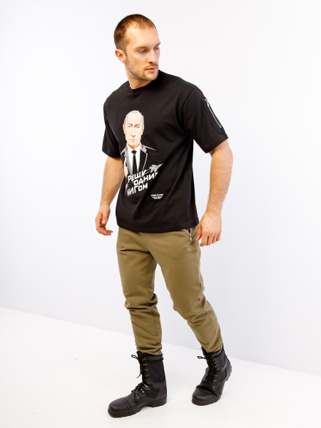 Men's t-shirt BS&ARMY ПУТИН
