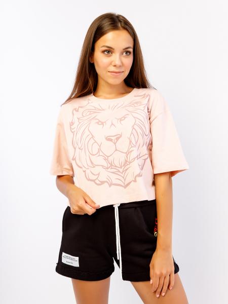 Women's t-shirt MULTICOLOR LION