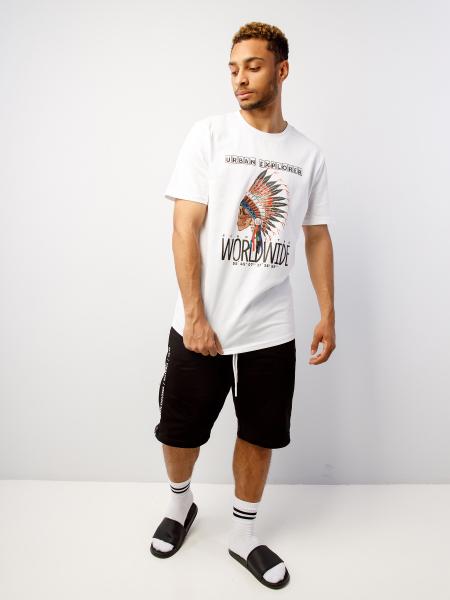 Men's t-shirt URBAN EXPLORER SKULL