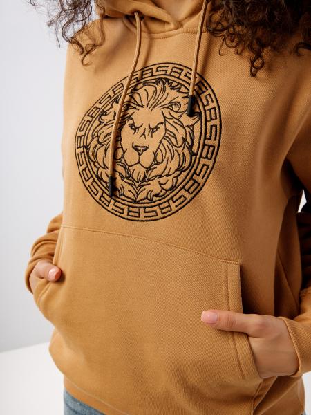Women's hoody BS LION LOGO
