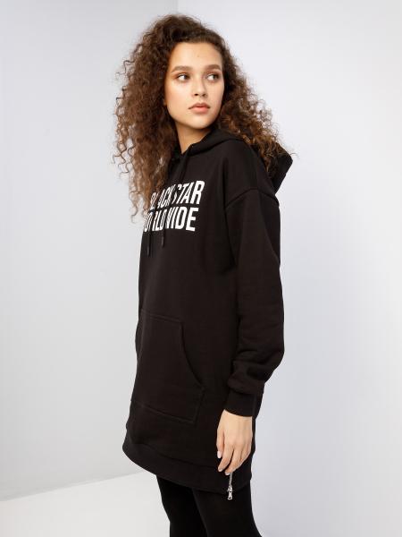 BSWRLD hoodie-dress