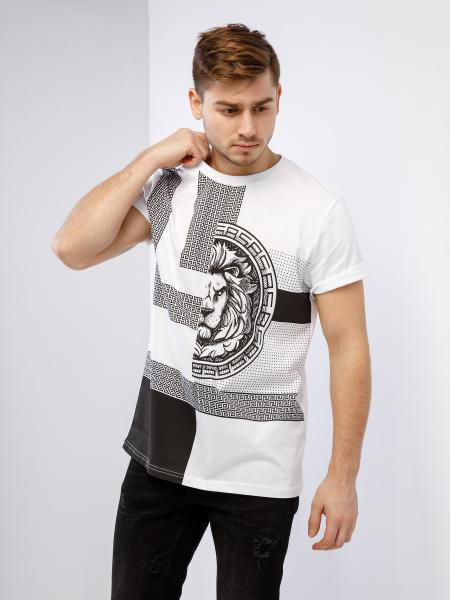Unisex t-shirt LION INK 2.0
