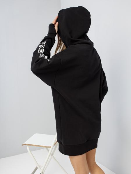 GOTHIC STAR hoodie-dress