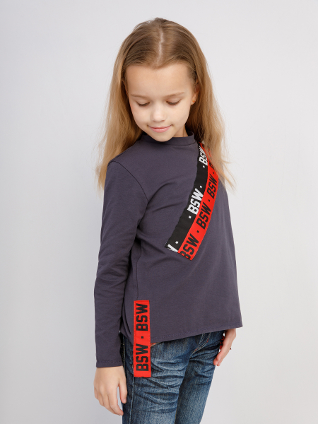 KIDS ID RED LINE longsleeve