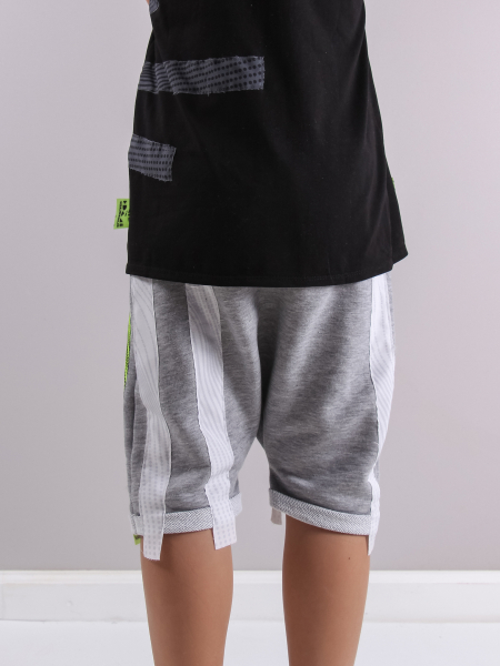 BB WHITE LINES shorts