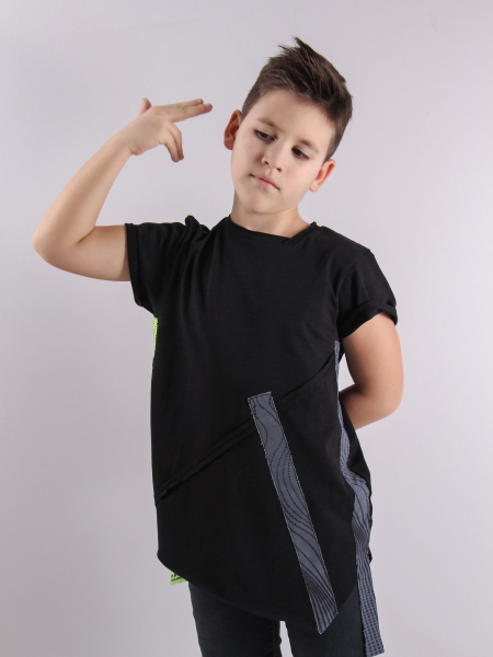 BB ASYMMETRIC LINES t-shirt