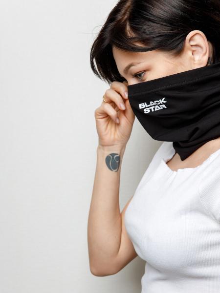Transformer-scarf BLACK STAR