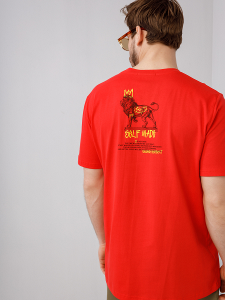 Unisex t-shirt CRAFT WITH PRIDE LION