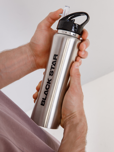 BLACK STAR thermos bottle