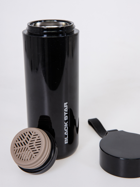 BLACK STAR thermos bottle