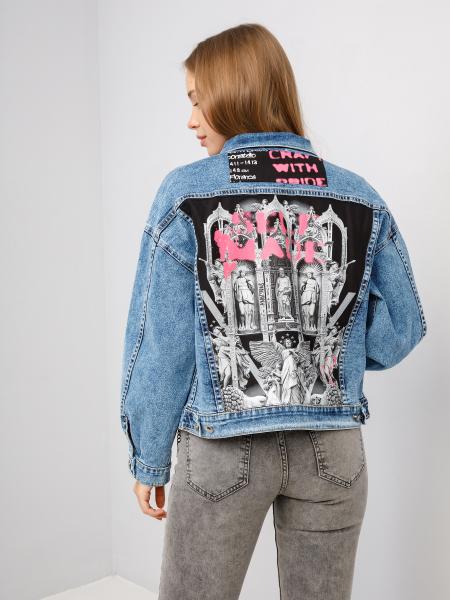Куртка джинсовая ART SPRAY