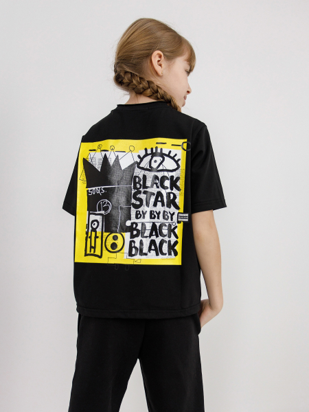 T-shirt BLACK KIDS ART
