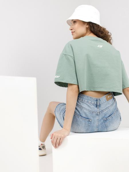 T-shirt crop top BSW LIGHT