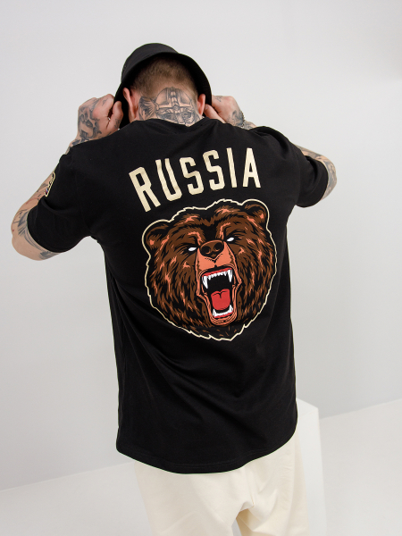 T-shirt RUS BEAR B.