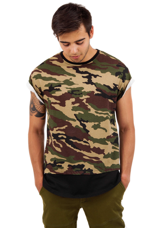 Mens t-shirt Camouflage от BlackStarWear INT