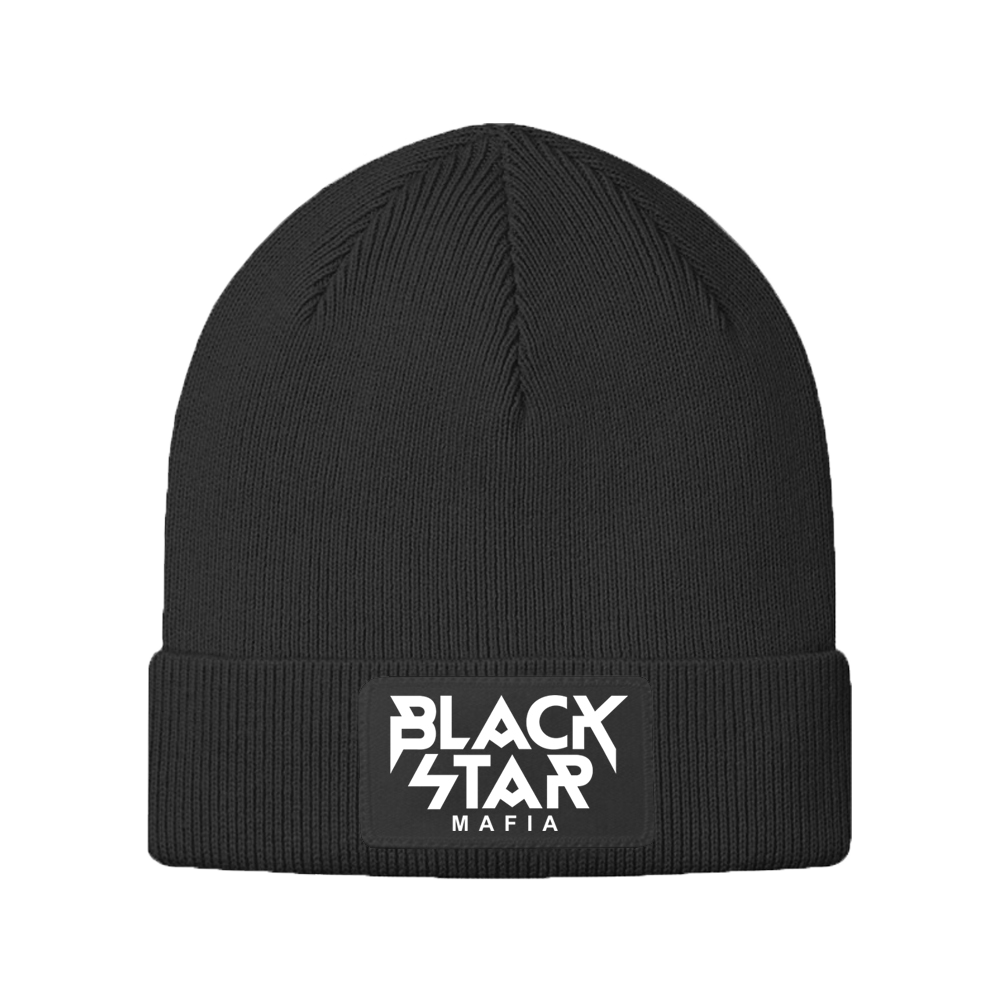 Kids Beanie Black Star MafiaUnisex beanie Black Star Mafia by Black Star Wear. Turn-up with Black Star Mafia logo. 100% acrilyc - keeps the shape after many washings. Perfect for cold weather. Avaliable in black.<br><br>size: One size<br>color: Black<br>gender: unisex