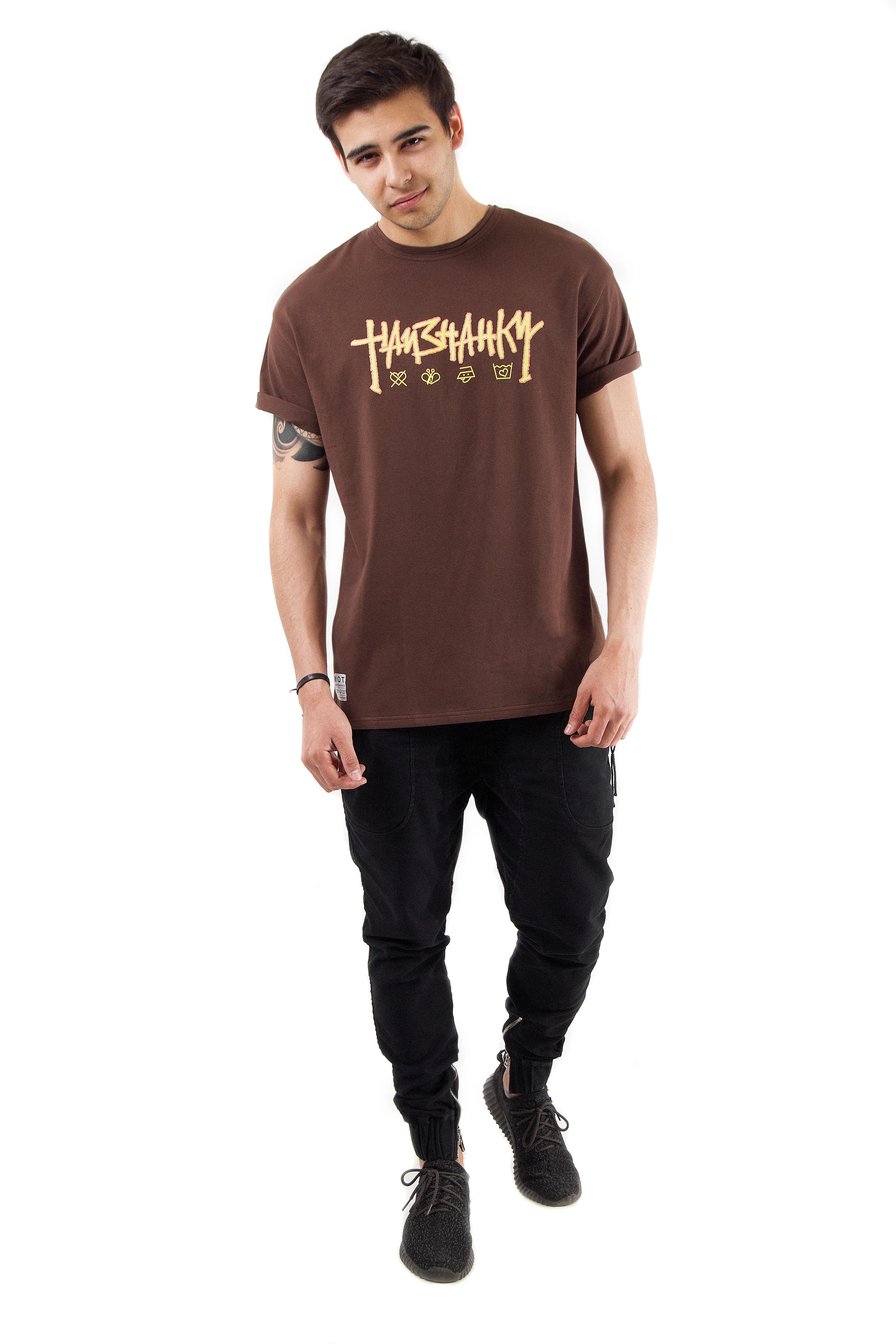 Mens T-shirt naiznanku от BlackStarWear INT
