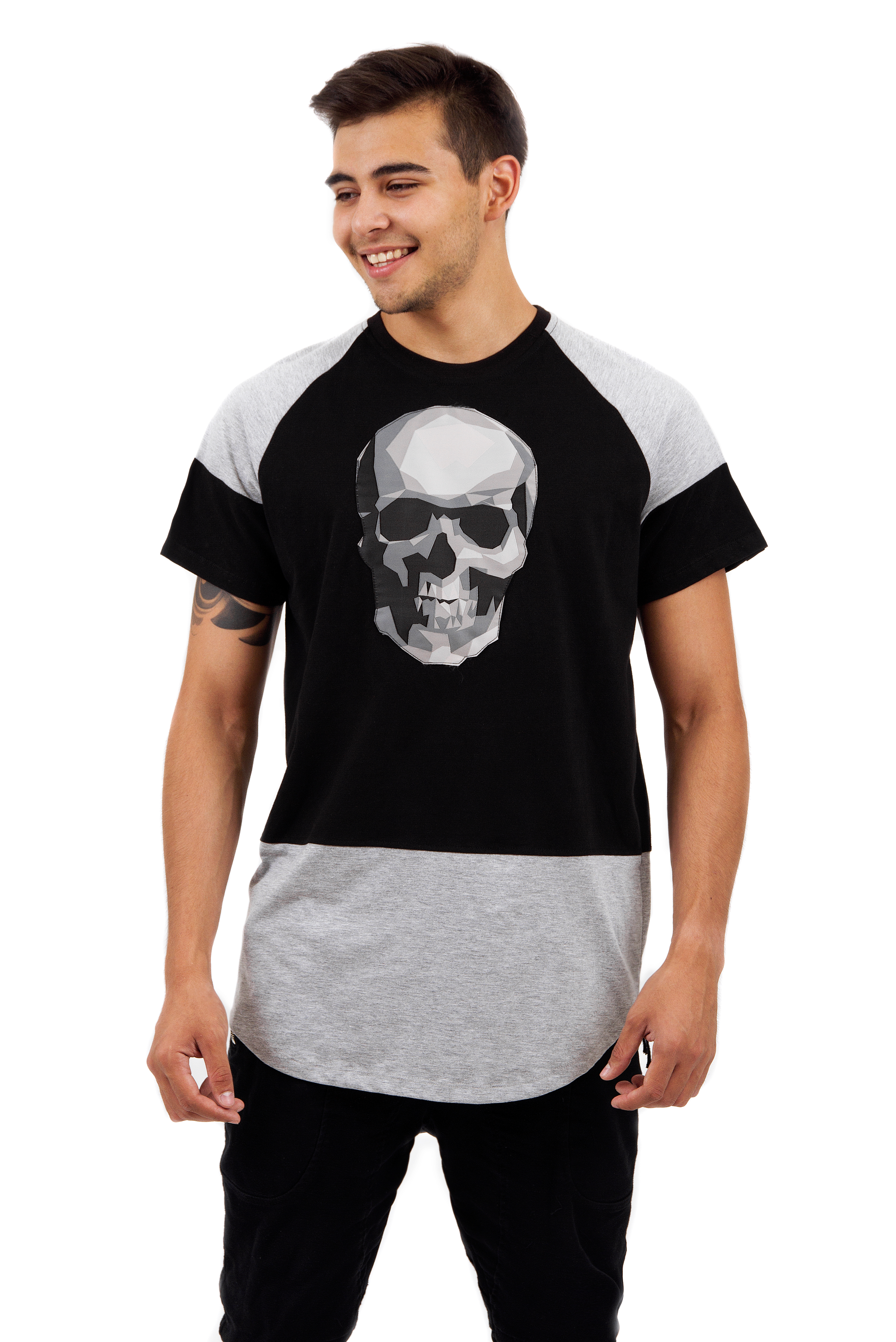 Mens t-shirt Double Colour от BlackStarWear INT