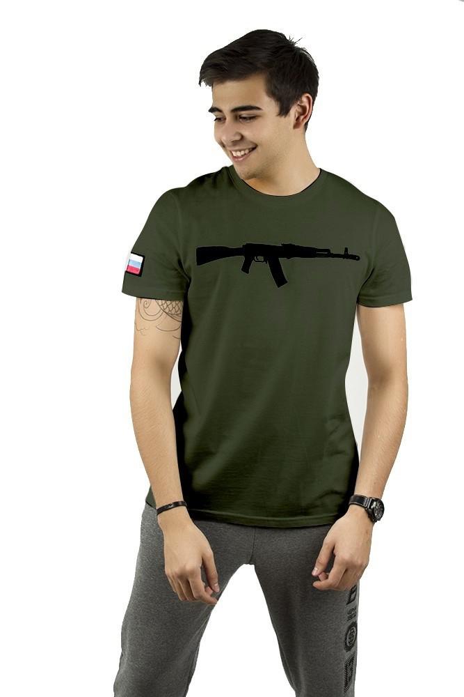 Mens t-shirt Black Star Rifle от BlackStarWear INT