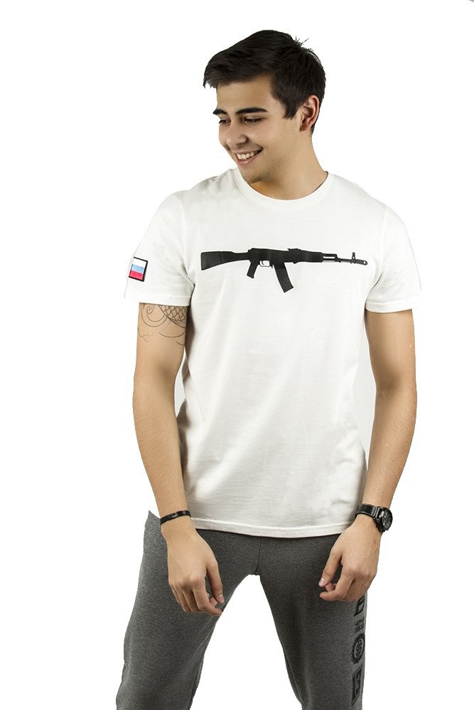 Mens t-shirt Black Star Rifle от BlackStarWear INT