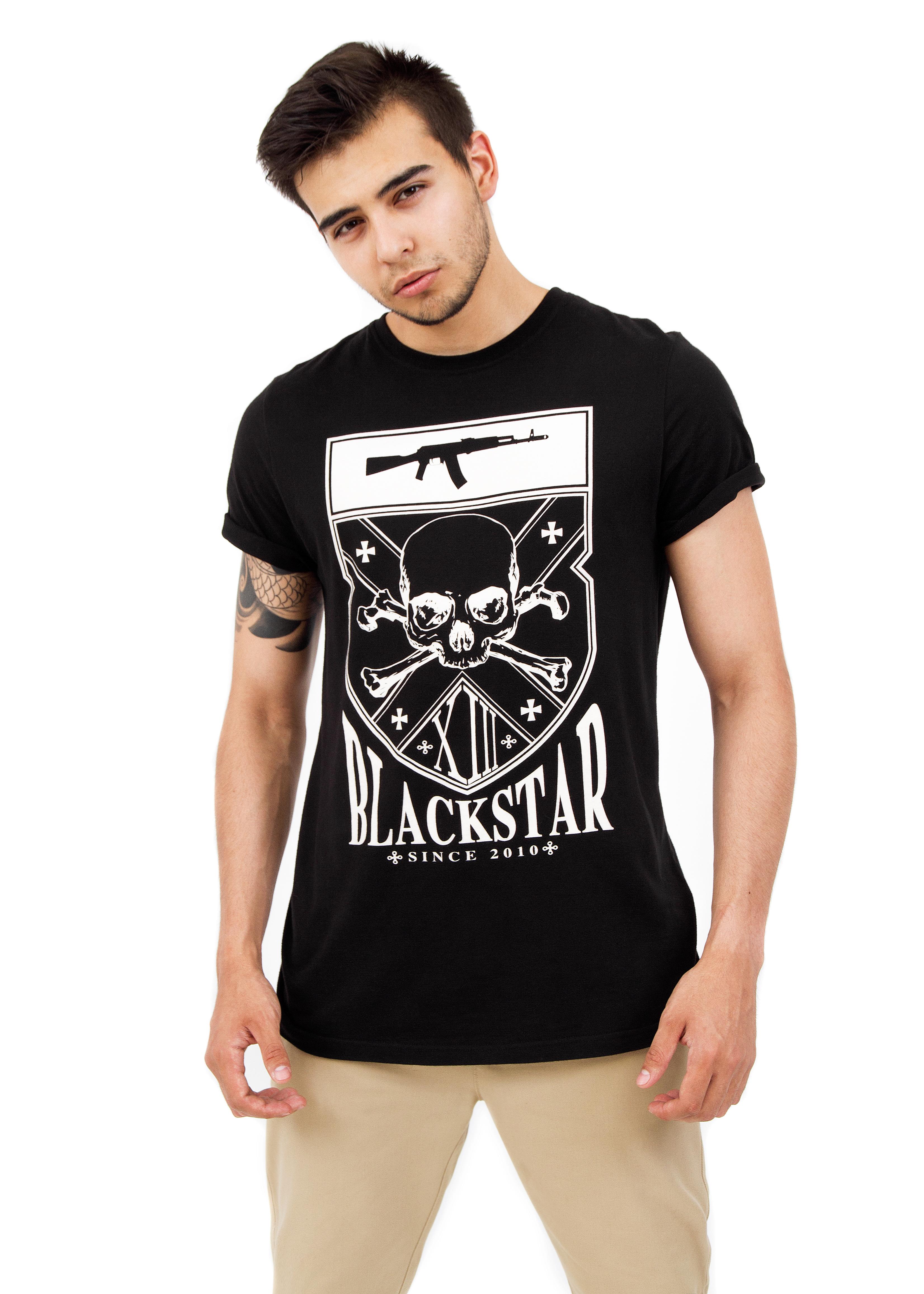 Mens t-shirt Skull XIII от BlackStarWear INT